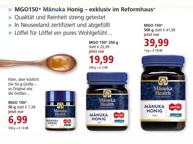 Manuka Honig im Angebot