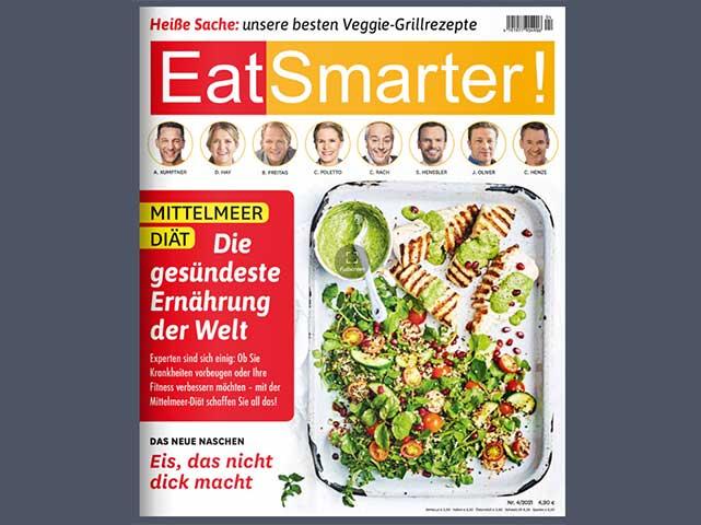Reformhaus Angebote Juli Eat Smarter Titel